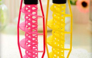 Бигуди-спиральки – как пользоваться и как правильно крутить
