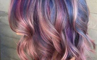 Фиолетовое омбре – как правильно сделать окрашивание, и на каких волосах оно лучше смотрится