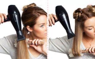 Как выпрямить волосы феном в домашних условиях – проверенные способы и советы стилистов