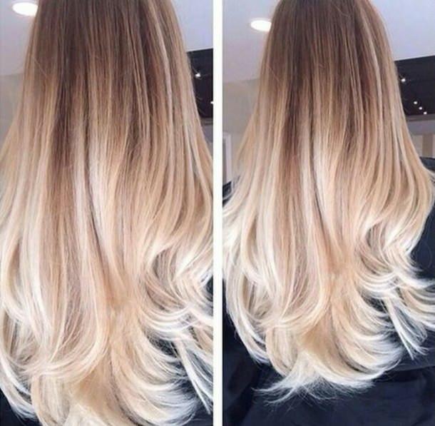 Омбре на русые волосы разной длины – подбор цвета и краски, техника выполнения в домашних условиях