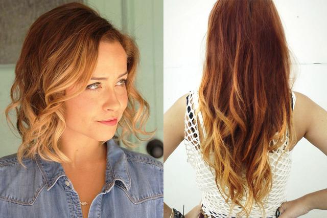 Рыжее омбре в домашних условиях и в салоне – правила окрашивания волос, выбор цвета и краски