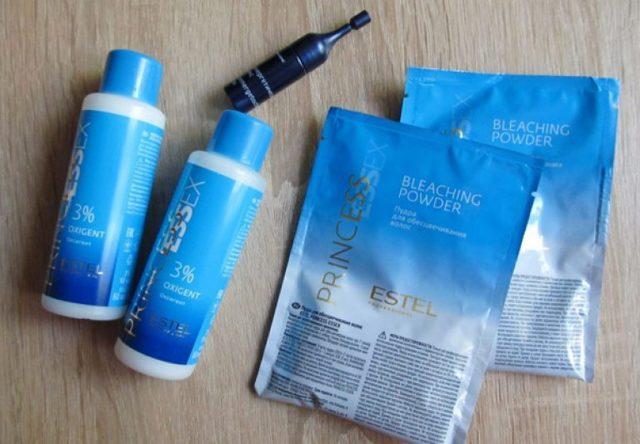 Окислитель для краски для волос – как разводить оксид и в каких пропорциях