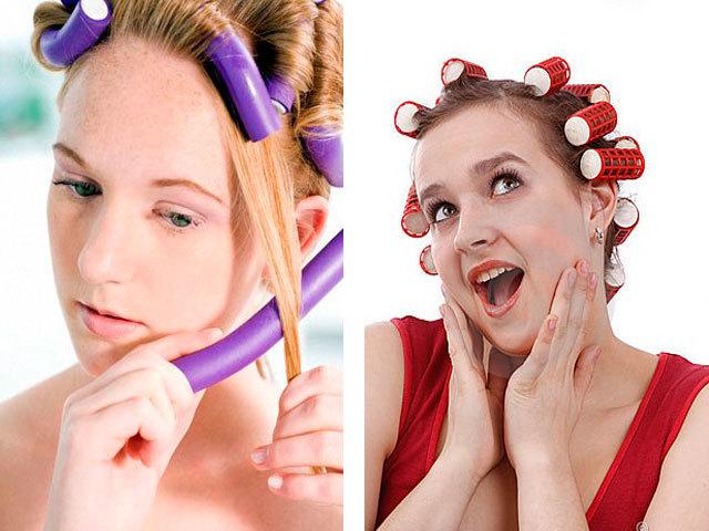 Бигуди для химической завивки на длинные и средние волосы – как сделать локоны