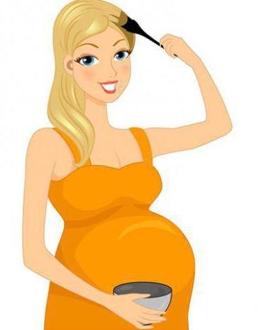 Краска для волос для беременных – названия лучших и безопасных