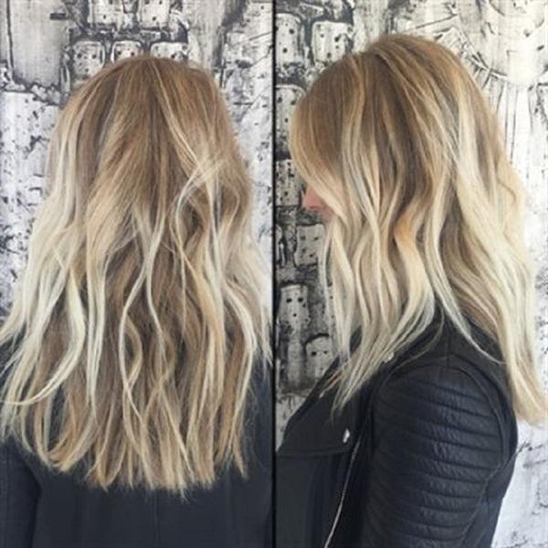 Американское мелирование на темные и светлые волосы – техника выполнения