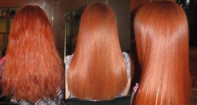 Кератиновое выпрямление волос – что это за процедура, правила и особенности ее выполнения