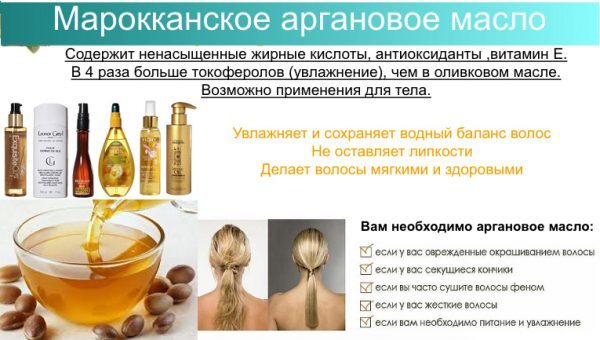 Масло арганы для волос – в чем его польза и особенности, способы применения и рецепты
