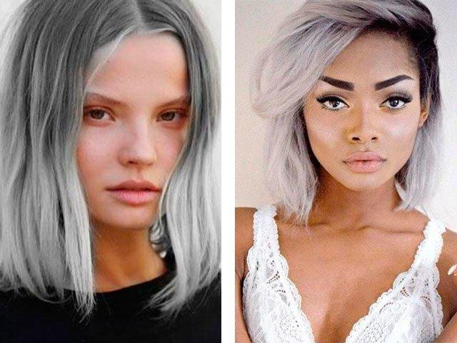 Как закрасить седину на темных волосах – салонные и народные методы решения проблемы