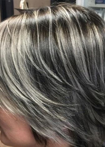 Мелирование на седые волосы – каким окрашиванием лучше скрыть седину
