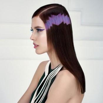 Пиксельное окрашивание волос – техника выполнения и подбор оттенка, плюсы и минусы