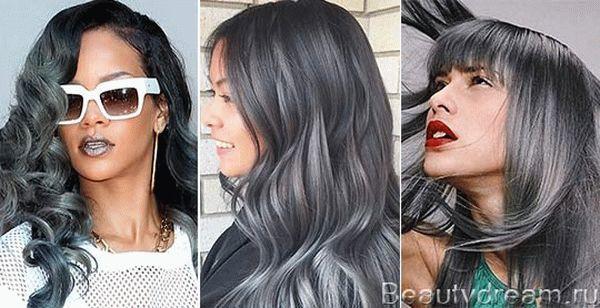 Краска для волос графит – кому подходит и какой фирмы лучше выбрать