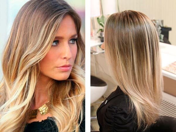 Мелирование на светлые волосы темными прядями – как сделать правильно