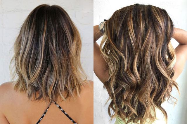 Мелирование на темные волосы – подбираем цвета для брюнеток на длинные и короткие стрижки