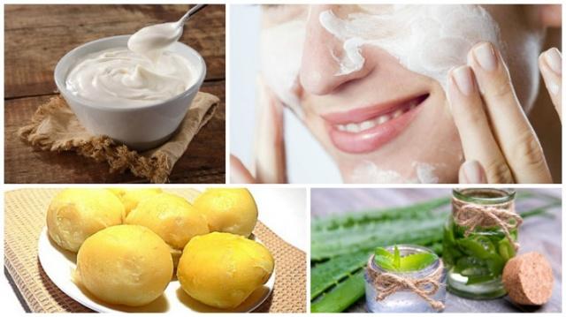 Маска из картофеля для лица – рецепты из сырого и вареного в домашних условиях, от морщин и для глаз