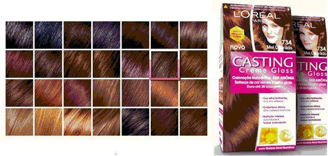 Краска для волос «Лореаль» «Кастинг крем глосс» – палитра и способ применения