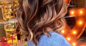 Балаяж на темные волосы разной длины – техника выполнения окрашивания