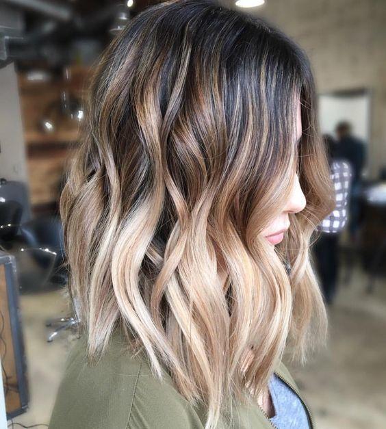 Модное окрашивание волос разной длины – способы и техники для стильных брюнеток и блондинок