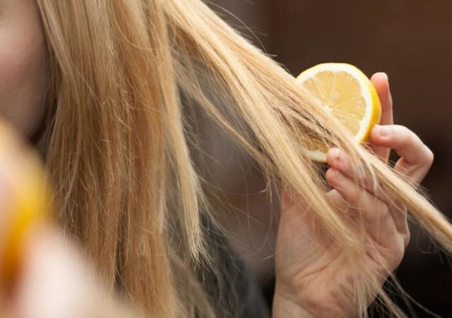 Осветление волос лимоном в домашних условиях – как обесцветить шевелюру лимонной кислотой