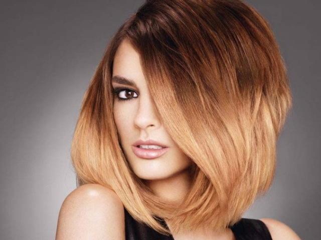 Омбре на черные волосы разной длины – как сделать окрашивание правильно и красиво, выбор краски