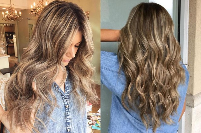 Мелирование на русые волосы разной длины – как делать и как выбрать цвет