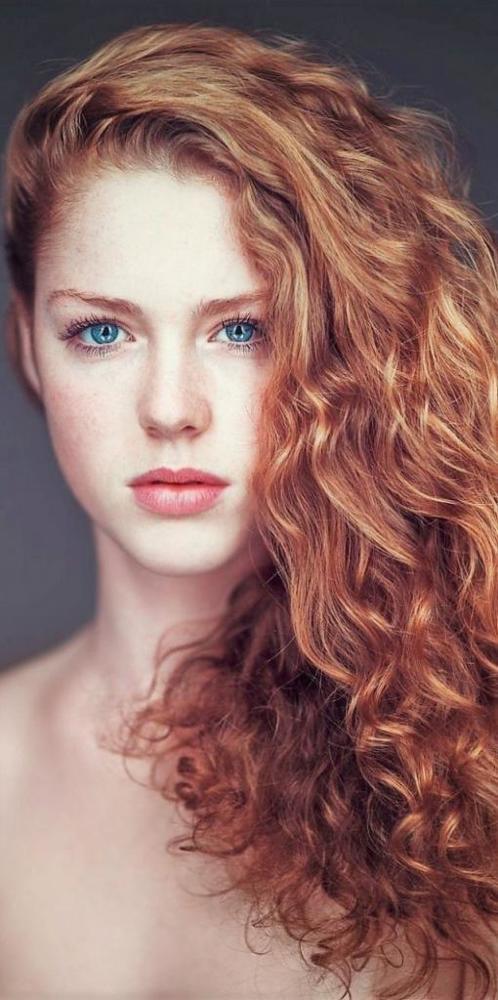 Балаяж на рыжие волосы – техника окрашивания с медным оттенком