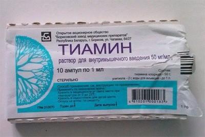Витамин В1 для волос – тиамин в ампулах: свойства и применение