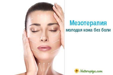 Мезотерапия лица – что это такое и как выполняется, виды препаратов и противопоказания