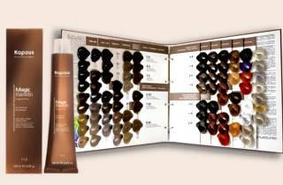 «Капус» краска для волос – палитра оттенков и способы окрашивания дома и в салоне