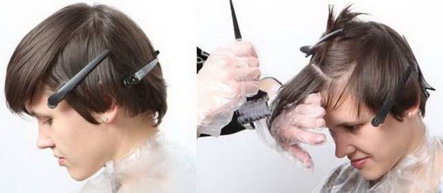 Омбре на короткие волосы – разновидности техники и особенности выполнения в домашних условиях