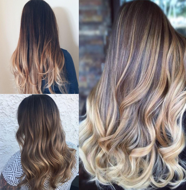 Розовое омбре – особенности окрашивания волос, правильный выбор краски и тона