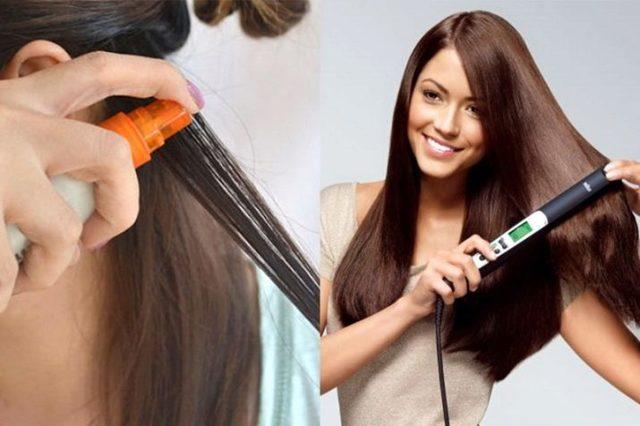 Средство для выпрямления волос в домашних условиях без утюжка – обзор и рейтинг, особенности выбора