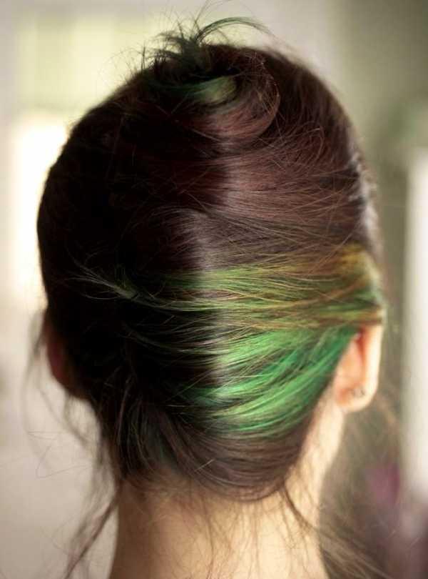 Как покрасить волосы зеленкой – кому подходит и как правильно приготовить красящий состав