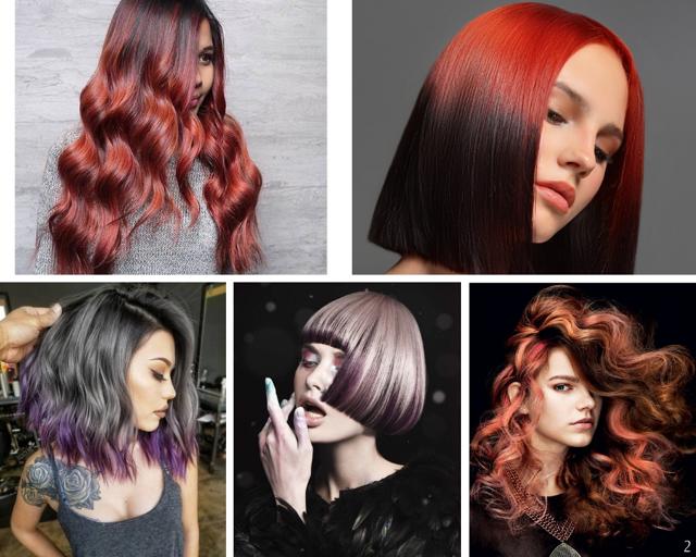 Колорирование на русые волосы разной длины – способы окрашивания и правильный выбор цвета