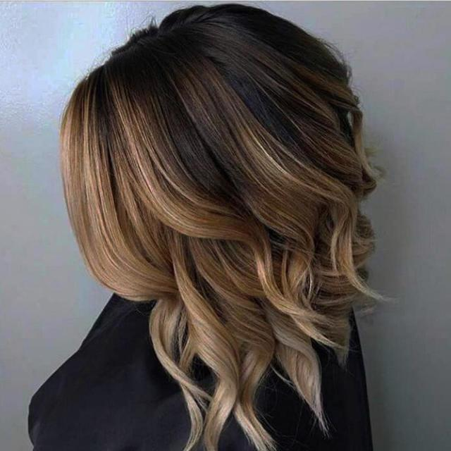 Колорирование на темные волосы – особенности техники на короткие, средние и длинные локоны