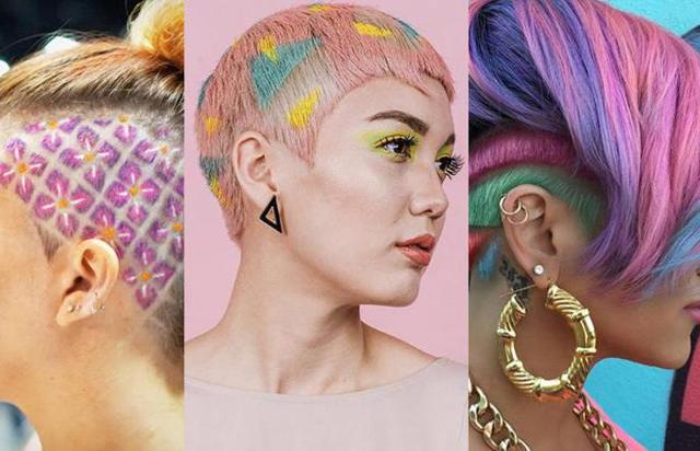 Креативное окрашивание на волосы различной длины – разновидности покраски и особенности техники