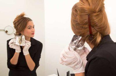 Мелирование на фольгу – как правильно делать: схема и техника окрашивания волос