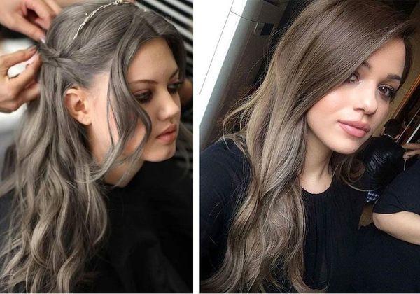 Пепельное омбре на короткие и длинные волосы – правила окрашивания, выбор цвета и краски